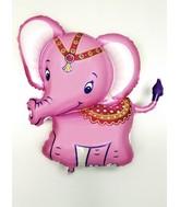 "34"" Baby Pink Elephant Balloon"