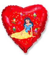 "18"" Snow Lady Mylar Balloon"