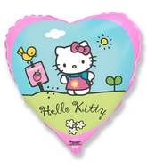 "18"" Hello Kitty Garden Balloon"