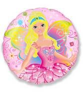 """18"""" Fairy Pink Mylar Balloon"""