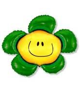 "41"" Green Flower"