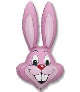"35"" Rabbit Head Pink"