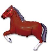 """42"""" Horse Dark Brown"""