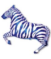 "42"" Zebra Blue"
