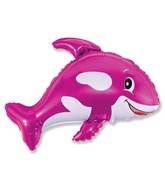 """32"""" Whale Fucshia"""