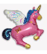 "43"" Magical Unicorn Pink"