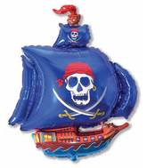 "36"" Pirate Ship Blue"