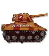 """28"""" Brown/Orange Tank"""