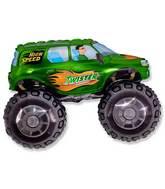 """30"""" Big Wheels Monster Truck Green"""