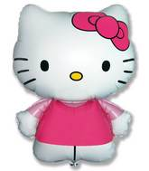 "26"" Jumbo Hello Kitty Balloon Pink"