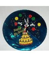 "7"" Airfill Bugs Birthday Cake M584"