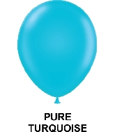 "9"" Fashion Party Style Latex Balloons (100 CT) Turquoise"