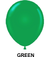 "9"" Standard Party Style Latex Balloons (100 CT) Green"