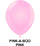 "11"" Fashion Party Style Latex Balloons (100 CT) Pink-A-Boo"