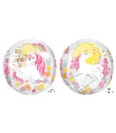 "16"" Orbz Magical Unicorn Foil Balloon"