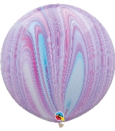 "30"" Fashion Super Agate Latex Balloon (2 Count)"