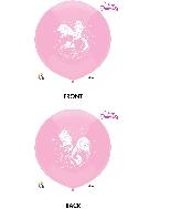 """17"""" Princess Latex Balloons 3 Count"""