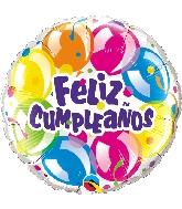 """18"""" Feliz Cumpleaños - Globos Brilliante"""