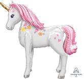 "46"" Airwalker Magical Unicorn Balloon Packaged"