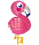 """28"""" Flamingo Shape Foil Balloon"""