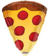 "18"" Slice Of Pizza Shape Foil Balloon"