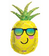 "36"" Pineapple Shape Foil Balloon"