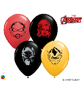 """5"""" Marvel's Characters Face (100 Per Bag) Latex Balloons"""