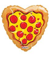"18"" Love Pizza Foil Balloon"