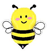 "34"" Foil Shape Just Bee Foil Balloon"