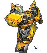 "37"" Jumbo Bumble Bee Tranformers Foil Balloon"