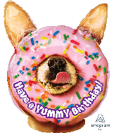 """25"""" Jumbo Avanti Yummy Birthday Foil Balloon"""