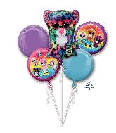 Bouquet Beanie Boos Foil Balloon 18'' - 36''