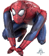 """15"""" Airfill Only Sitting Spider-Man Foil Balloon"""