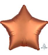 "18"" Satin Luxe Amber Star Foil Balloon"