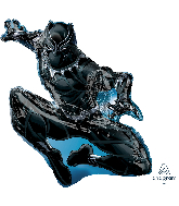 "32"" Jumbo Black Panther Foil Balloon"