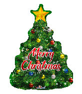 "36"" Christmas Tree Foil Balloon"