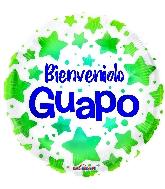 "18"" Bienvenido Guapo Foil Balloon"