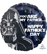 "18"" Star Wars Happy Father's Day Foil Balloon"