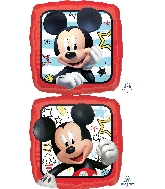 "18"" Mickey Roadster Racers Foil Balloon"