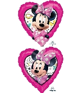 "18"" Minnie Happy Helpers Foil Balloon"