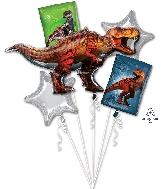 Jurassic World Bouquet Foil Balloon