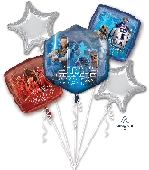 Star Wars The Last Jedi Bouquet Foil Balloon