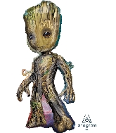 "40"" Baby Groot SuperShape XL Foil Balloon"