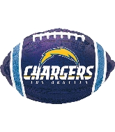 "17"" Los Angeles Chargers Junior Shape XL Foil Balloon"