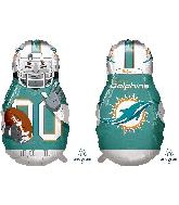 "39"" Football Player Miami Dolphins Foil Balloon"