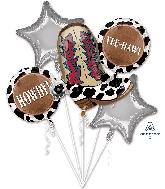Yeehaw Bouquet Foil Balloon