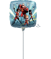"9"" Airfill Only The Incredibles Balloons"