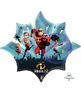 "35"" Supershape The Incredibles Foil Balloon"