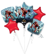 The Incredibles Bouquet Foil Balloons