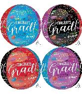 "16"" Grad Memories Orbz XL Foil Balloon"